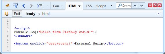 Coloration syntaxique du panneau HTML